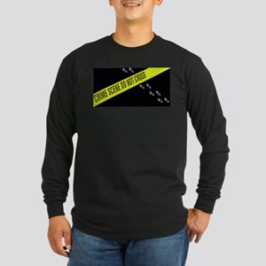 Crime Scene Long Sleeve Dark T-Shirt