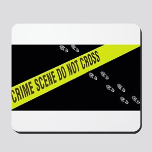 Crime Scene Mousepad