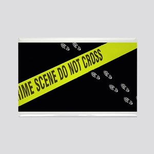 Crime Scene Rectangle Magnet