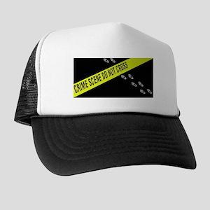 Crime Scene Trucker Hat