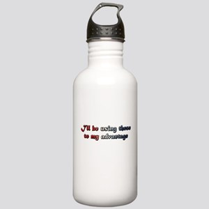 BOOB ADVANTAGE - US COLORS Stainless Water Bottle