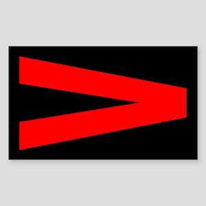 V is for Resistance Sticker (Rectangle)