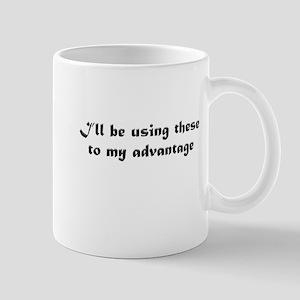 BOOB ADVANGE - BLACK Mug