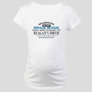 Ronald Reagan Maternity T-Shirt
