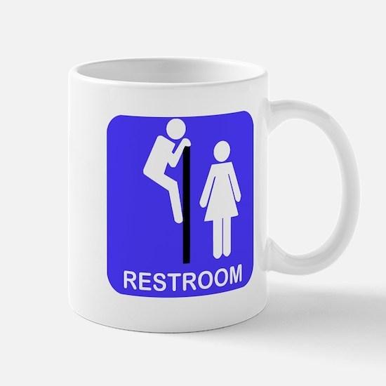 Restroom Sign Mug