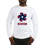 Fibonacci Red White Blue Long Sleeve T-Shirt