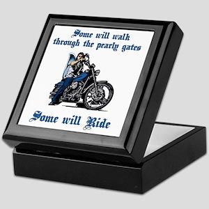 Some Will Ride Keepsake Box