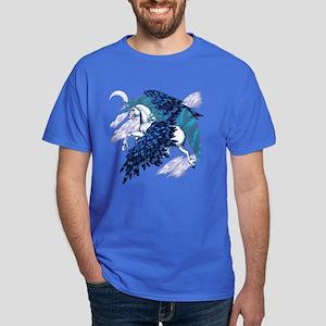 Winged Unicorn Dark T-Shirt