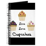 Live Love Cupcakes Journal