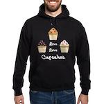 Live Love Cupcakes Hoodie (dark)