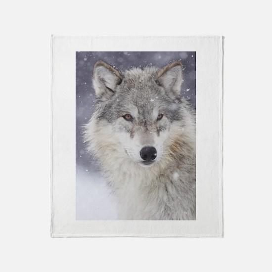 Snow Bound Throw Blanket