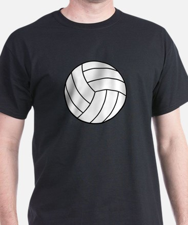 VOLLEYBALL {22} : white T-Shirt