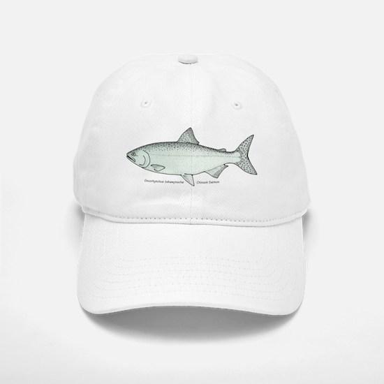 Chinook Salmon Baseball Baseball Cap