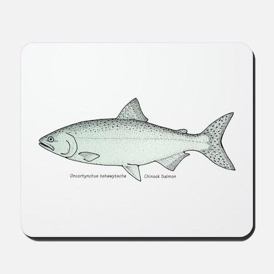 Chinook Salmon Mousepad