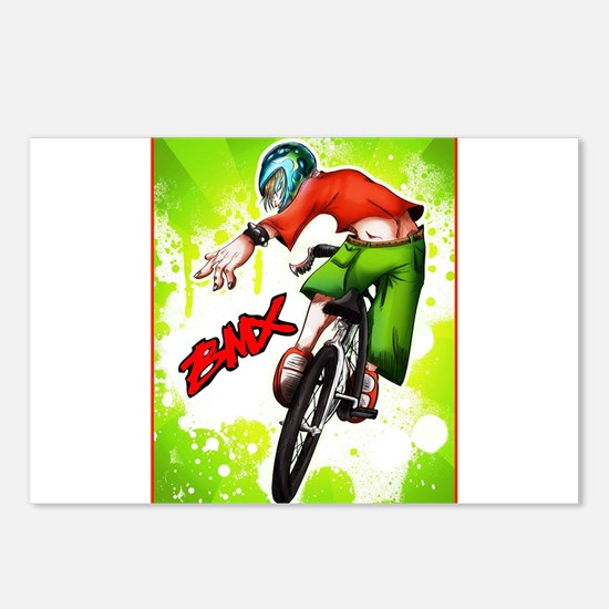 Cute Bmx Postcards (Package of 8)