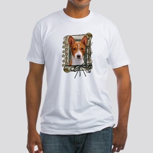 Fathers Day - Stone Paws Fitted T-Shirt