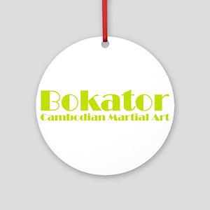 Bokator Cambodian Martial Art Ornament (Round)