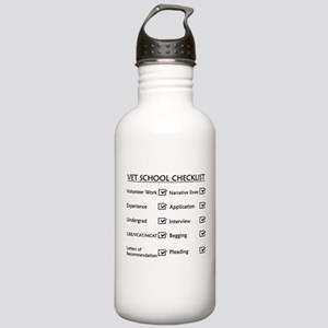 Vet School Checklist Stainless Water Bottle 1.0L