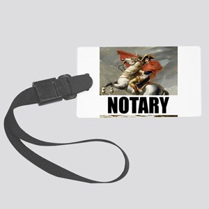 Notary Luggage Tag