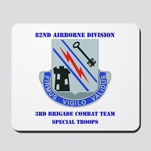 DUI - 3rd Bde - Special Troops Bn with Text Mousep