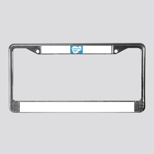 Cambodia In Map License Plate Frame