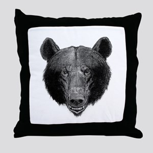 Gil Warzecha - antique illust Throw Pillow