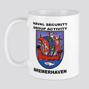 NAVAL SECURITY GROUP ACTIVITY, BREMERHAVEN Mug