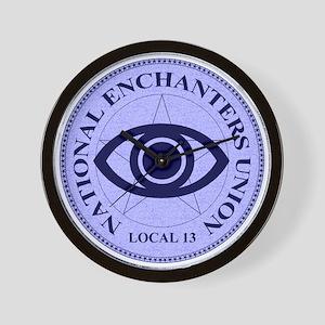 Enchanters Union Gamer Wall Clock