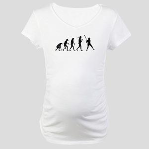 1774e6c31db Fastpitch Softball Batter Maternity T-Shirts - CafePress