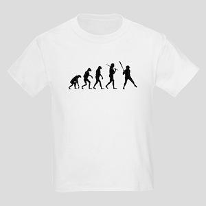 The Evolution Of The Softball Batter Kids Light T-