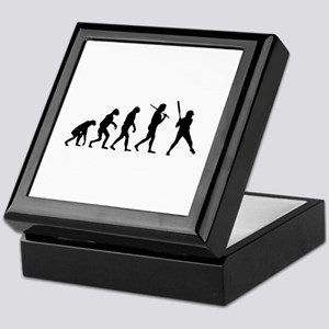 The Evolution Of The Softball Batter Keepsake Box