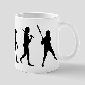 The Evolution Of The Softball Batter Mug