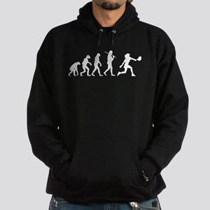 The Evolution Of The Woman Tennis Player Hoodie (d