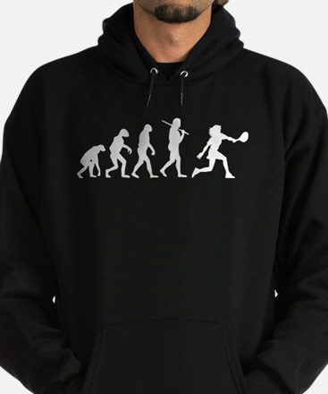 The Evolution Of The Woman Tennis Player Hoodie