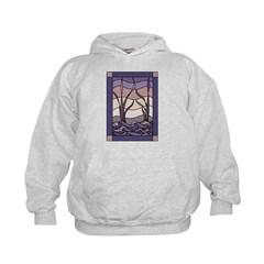 Sunset Marsh Stained Glass Hoodie