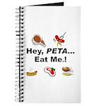 EAT AN ANIMAL FOR PETA Journal