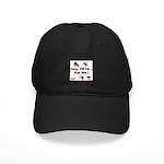 EAT AN ANIMAL FOR PETA Black Cap