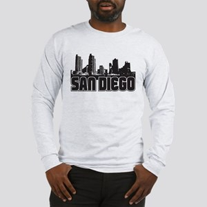 San Diego Skyline Long Sleeve T-Shirt