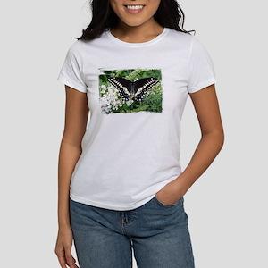 Black Swallowtail Butterfly Women's T-Shirt