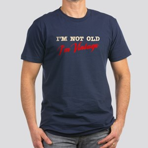 Not Old I'm Vintage Men's Fitted T-Shirt (dark)