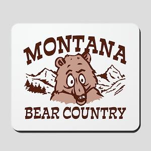 Montana Bear Country Mousepad