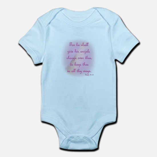 Angels Charge Over Thee Infant Bodysuit