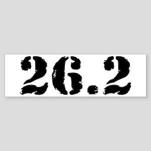 26.2 - Marathon Sticker (Bumper)