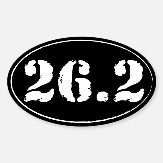 26.2 - Marathon Sticker (Oval)