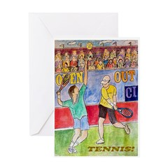 Tennis! Greeting Card