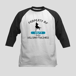 Belgian Malinois Kids Baseball Jersey