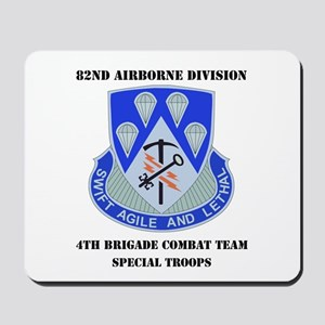 DUI - 4th Bde - Special Troops Bn with Text Mousep