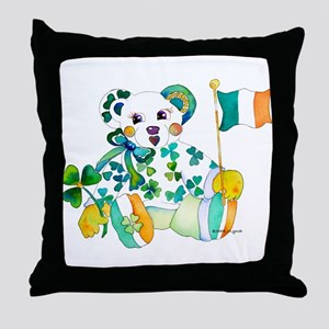 St Patrick's Day Throw Pillow
