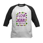 Mommy Takes Me To Parades Kids Baseball Jersey