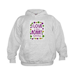 Mommy Takes Me To Parades Hoodie